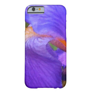 Bright Abstract Purple Iris Watercolor Painting Barely There iPhone 6 Case
