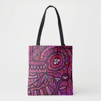 Bright Abstract Tote