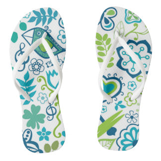 Bright and Cheerful Outdoor Scene Flip Flop
