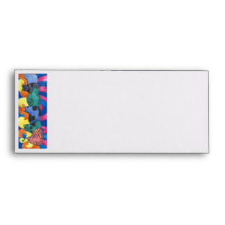 Bright and colorful Cat envelope