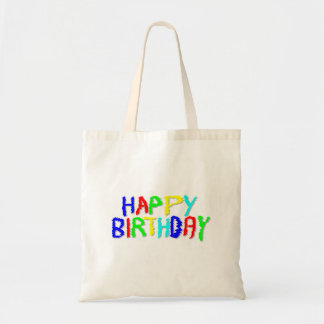Bright and Colorful. Happy Birthday. Tote Bag