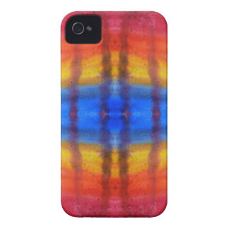 Bright and Colorful. Red, Blue and Yellow Pattern. Case-Mate iPhone 4 Case