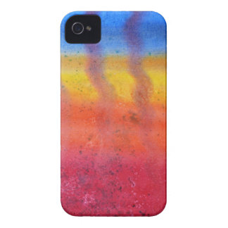 Bright and Colorful. Red, Blue and Yellow Pattern. iPhone 4 Case