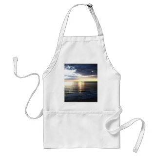 Bright and Colorful Sunset Adult Apron