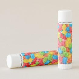 Bright and Colorful Unique Pattern Lip Balm