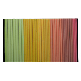Bright and Colorful Wood Fence iPad Case