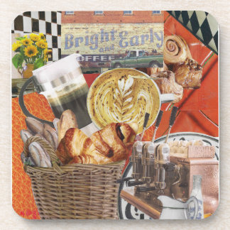 Bright and Early Beverage Coaster