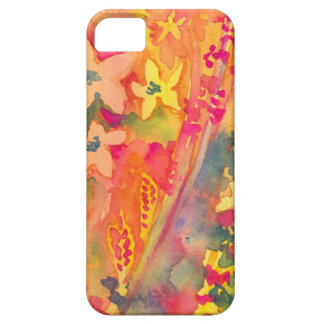 Bright and Funky Flowers Fun iPhone 5 Case