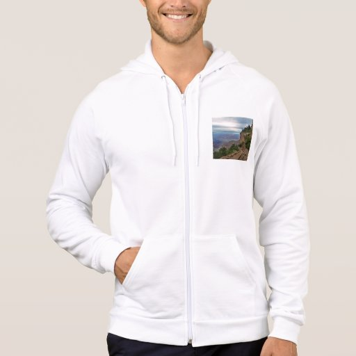 Bright Angel Trail Grand Canyon National Park Hooded Pullover