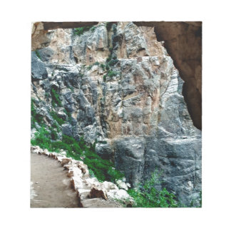 Bright Angel Trail Grand Canyon National Park Note Pad