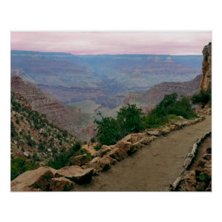 Bright Angel Trail Grand Canyon National Park Poster