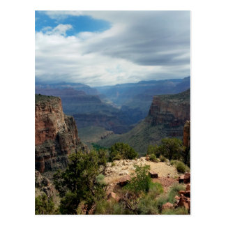 Bright Angel Trail Grand Canyon overlook Postcard