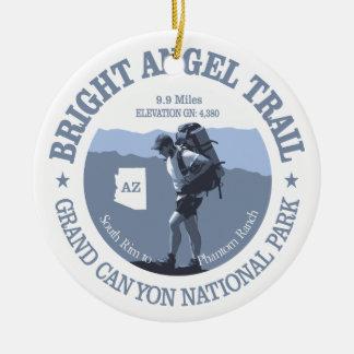 Bright Angel Trail (rd) Ceramic Ornament