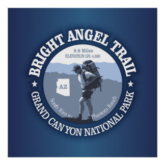 Bright Angel Trail (rd) Poster