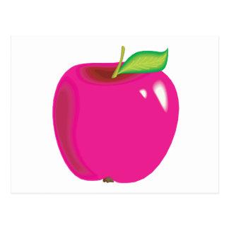 bright apple postcard