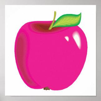 bright apple poster