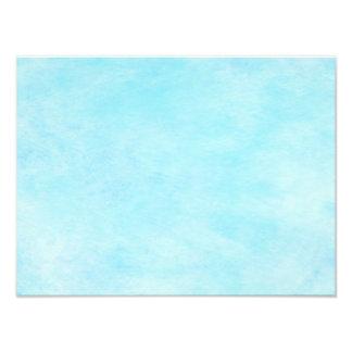 Bright Aqua Blue Teal Watercolor Paper Color Photo Print