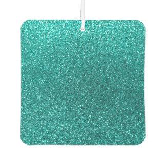 Bright aqua glitter