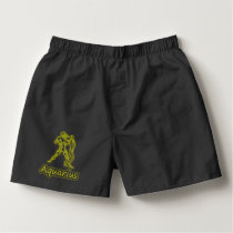 Bright Aquarius Boxers