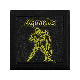 Bright Aquarius Jewelry Box