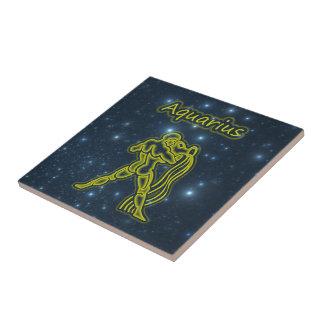 Bright Aquarius Tile