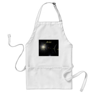 Bright Aries Adult Apron