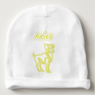 Bright Aries Baby Beanie