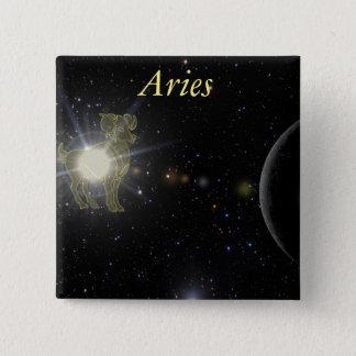 Bright Aries Button
