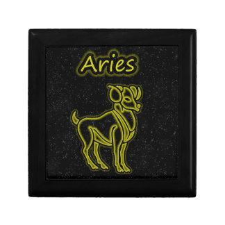 Bright Aries Jewelry Box