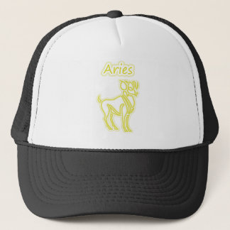 Bright Aries Trucker Hat
