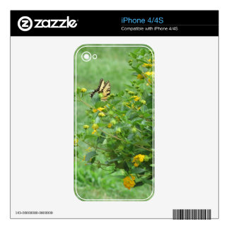 Bright as a Butterfly Skin For iPhone 4
