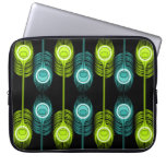 Bright As A Feather (black) Laptop Computer Sleeves