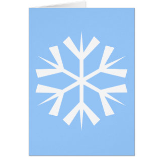 Bright as Snow Holiday Card