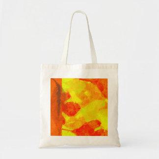Bright Autumn Leaves Tote Bag