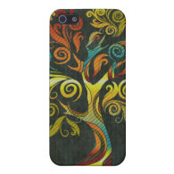 Bright Autumn Tree IPhone Case Covers For iPhone 5