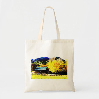 Bright autumnal weather* Photograph processed Tote Bag