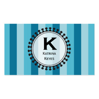 Bright Awnings Blue Calling Cards Double-Sided Standard Business Cards (Pack Of 100)