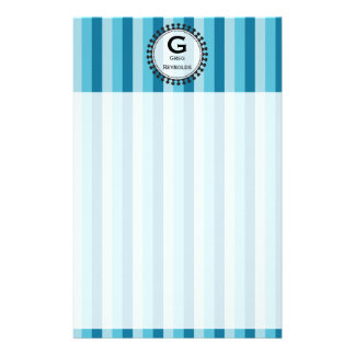 Bright Awnings Blue Stationery