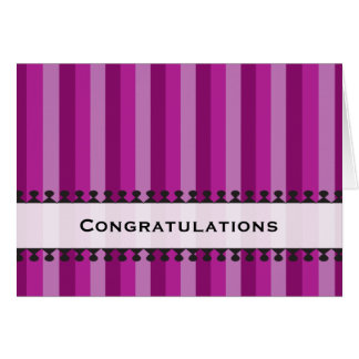 Bright Awnings Congratulations Notecard Stationery Note Card