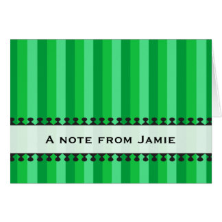 Bright Awnings Everyday Notecard Stationery Note Card