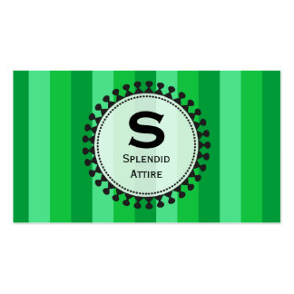 Bright Awnings Green Business Cards