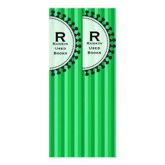 Bright Awnings Lg. Green Bookmarks Custom Rack Card