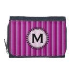Bright Awnings Monogram Wallet - Purple