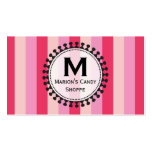 Bright Awnings Pink Business Cards