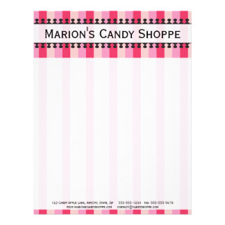 Bright Awnings Pink Letterhead