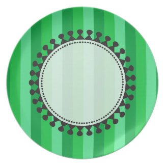Bright Awnings Plate - Green