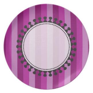 Bright Awnings Plate - Purple