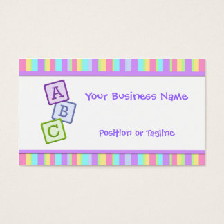 Bright Baby Business Card
