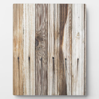 Bright background of wooden planks plaque