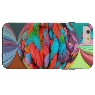 Bright Ball Of Multi-Color Yarn Skeins Tough iPhone 6 Plus Case